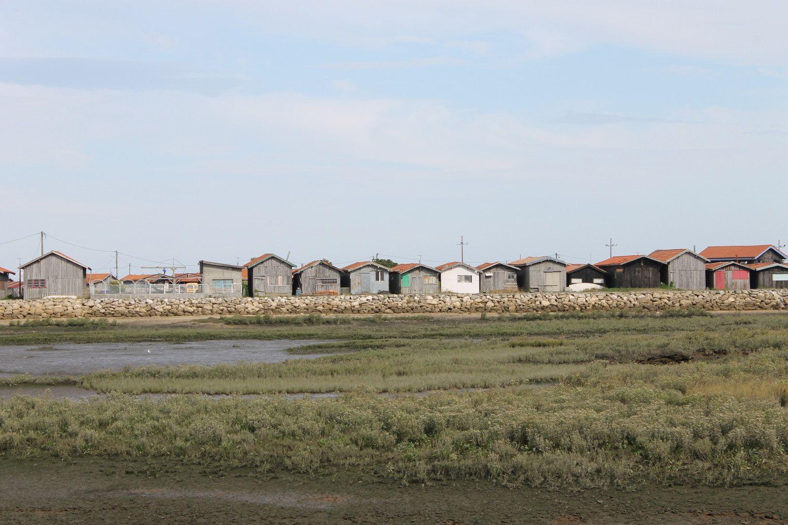 Les cabanes du bassin