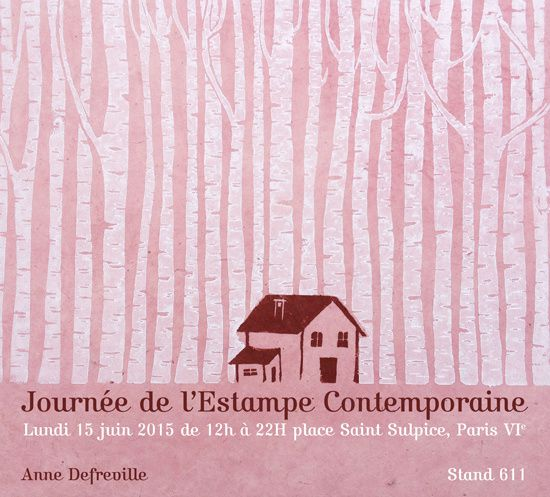 Journée de l'estampe contemporaine 2015