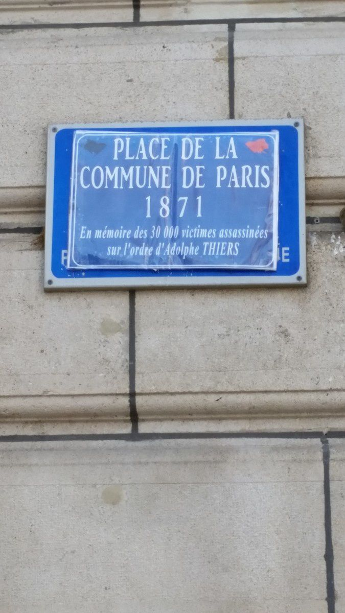 Place de la commune de Paris