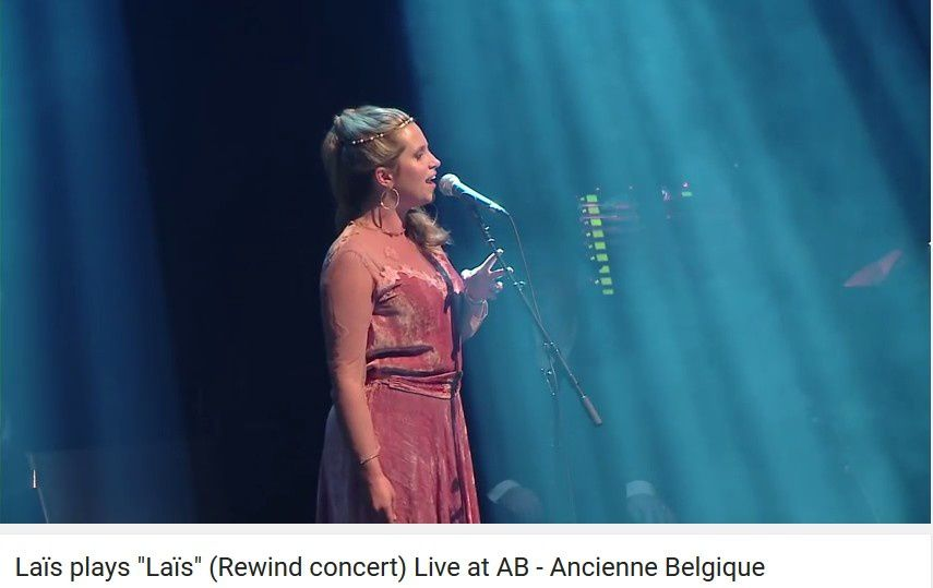 Laïs plays &quot&#x3B;Laïs&quot&#x3B; (Rewind concert) Live at AB - Ancienne Belgique