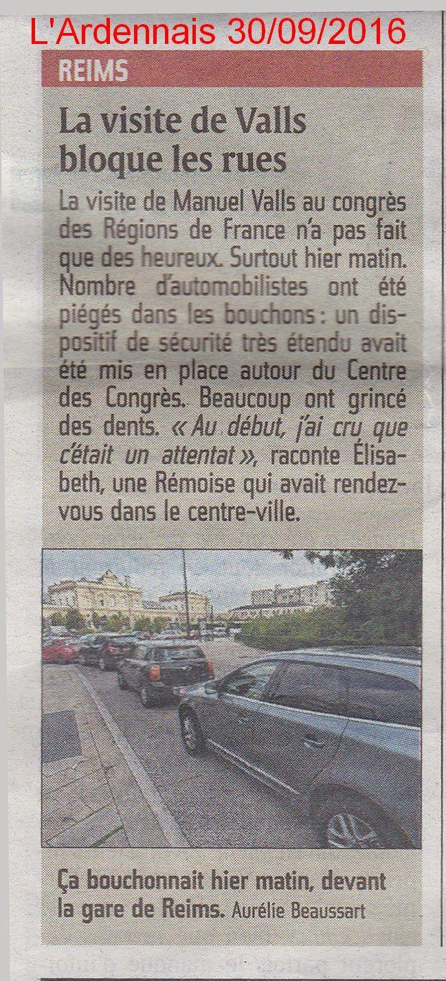 Valls à Reims : les manants sont priés de dégager..