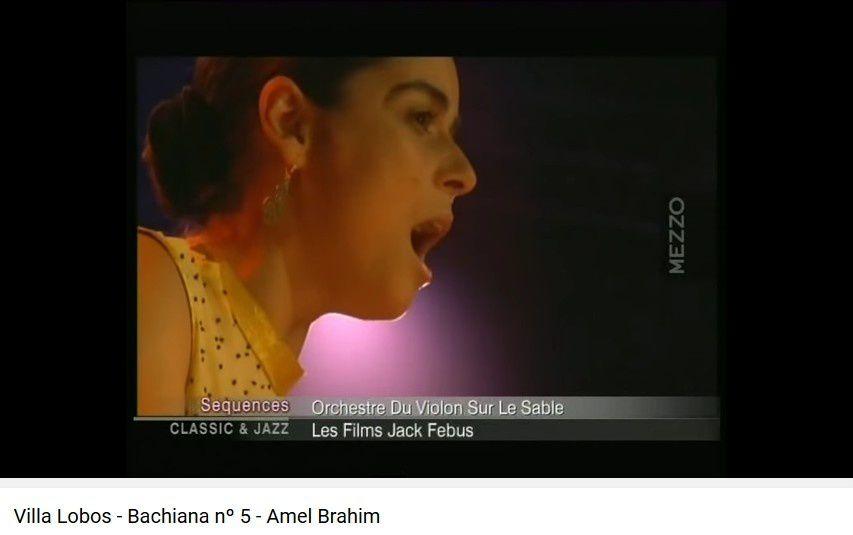 Villa Lobos - Bachiana nº 5 - Amel Brahim