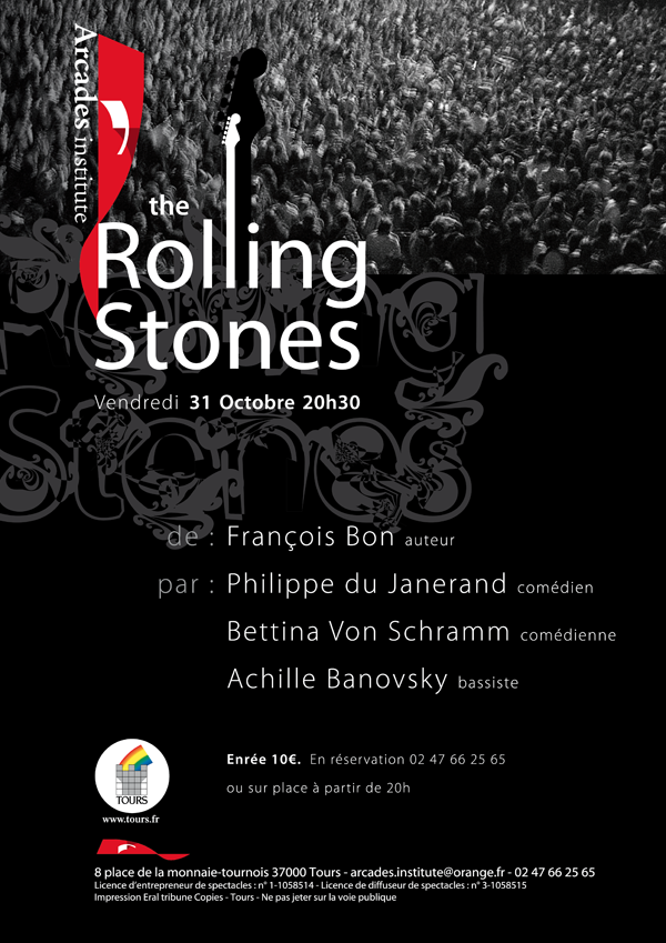 Vendredi 31 Octobre 20h30 The Rolling Stones
