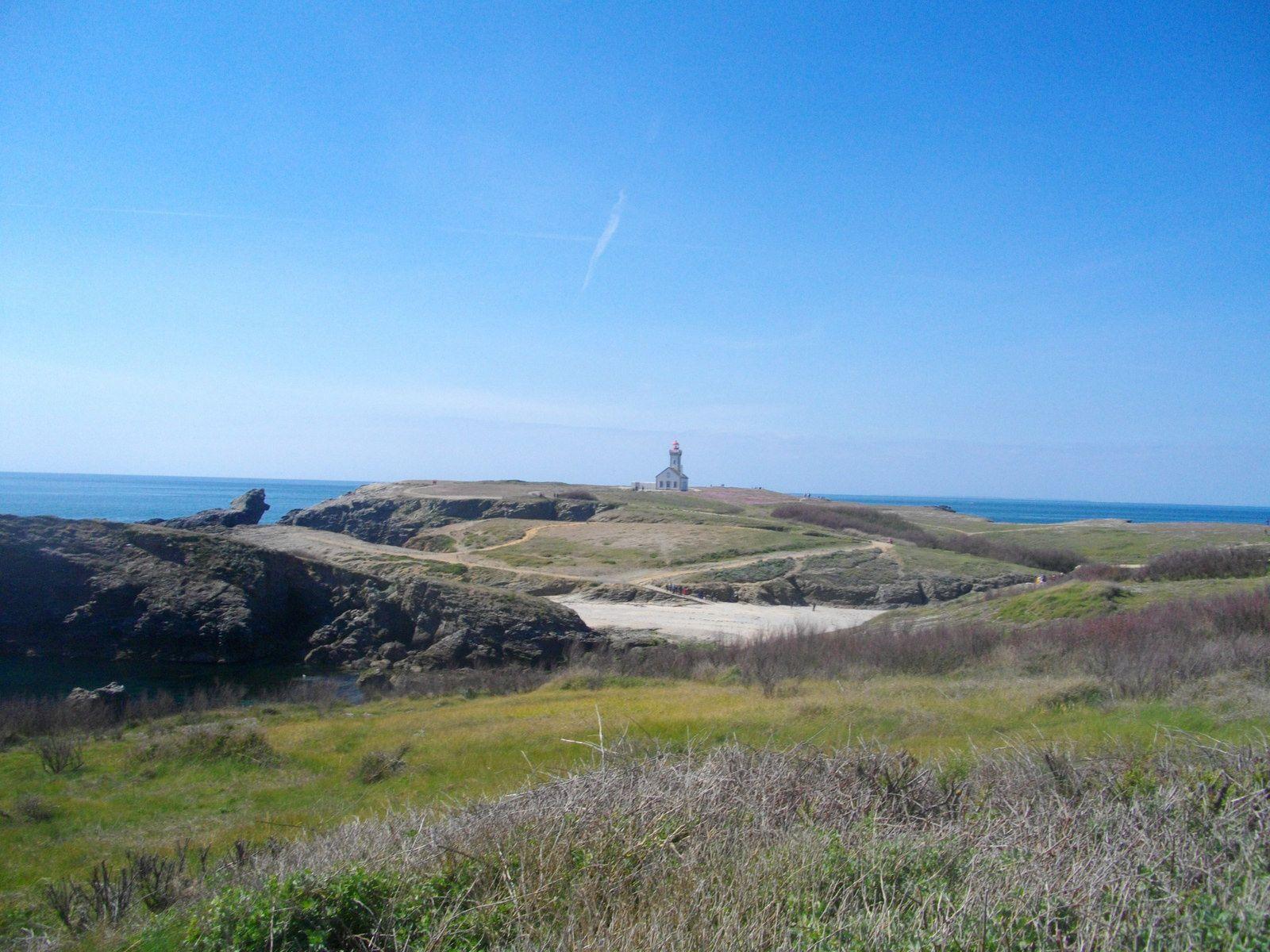 Belle-Île-en-Mer, la Pointe des Poulains