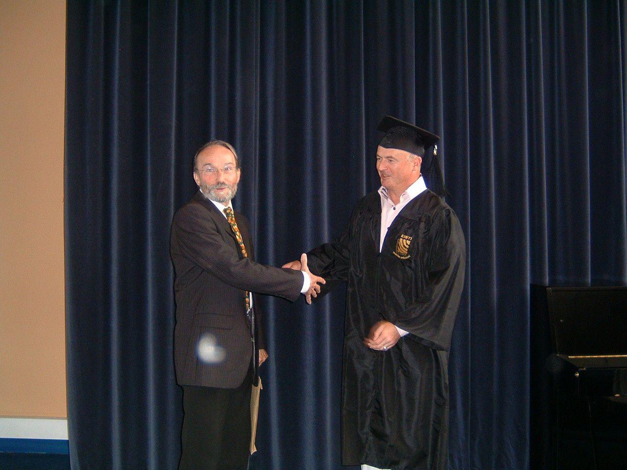 18 juin 2011: Remise des diplômes du Mastère Spécialisé à l'EISTI - Cergy