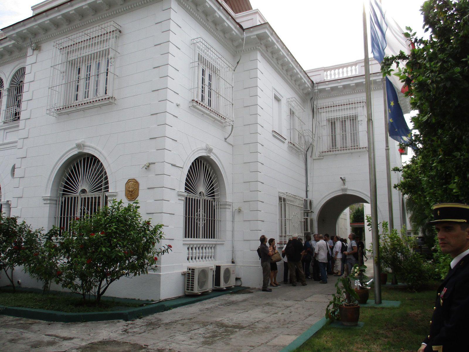 L'ambassade de France à Cuba le 16 novembre