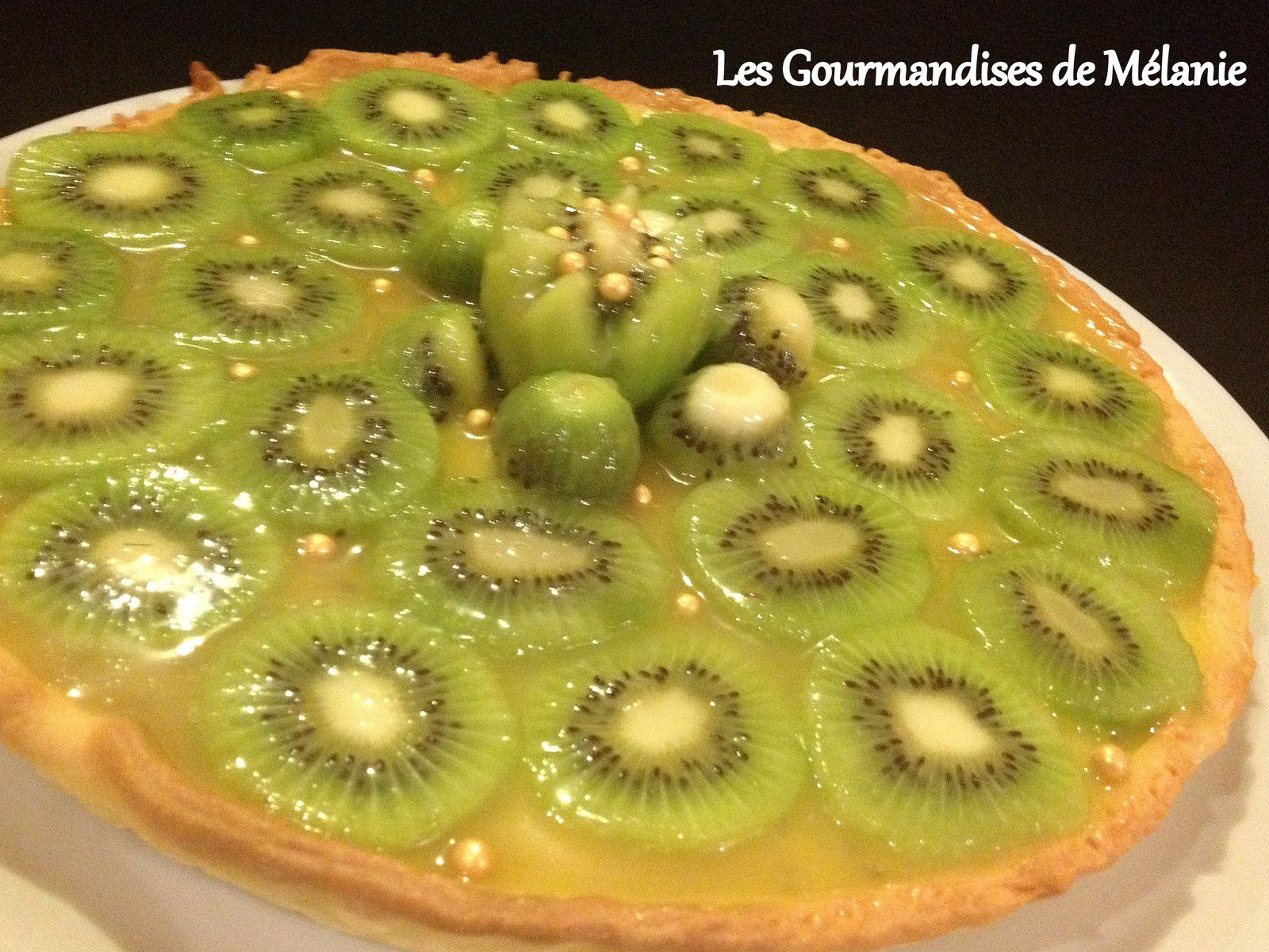 tarte au kiwi les gourmandises de m lanie. Black Bedroom Furniture Sets. Home Design Ideas