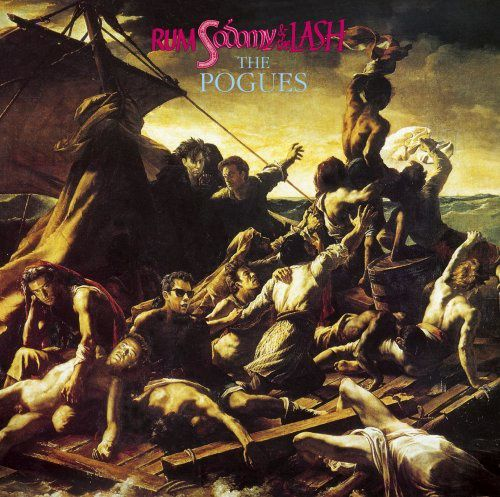 Pochette de l'album Rum, Sodomy and the Lash - The Pogues