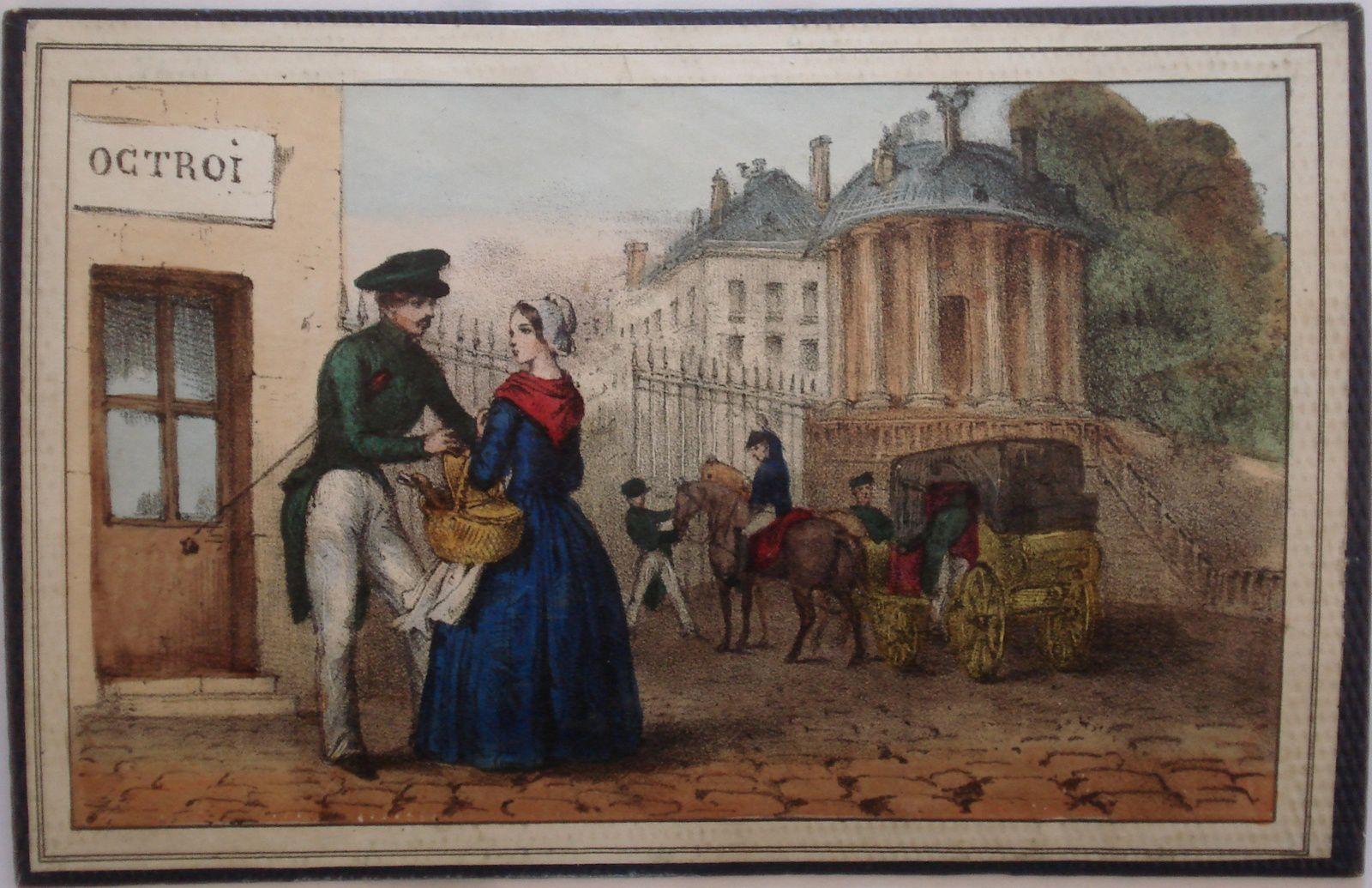 cheval blanc et douaniers de Rousseau