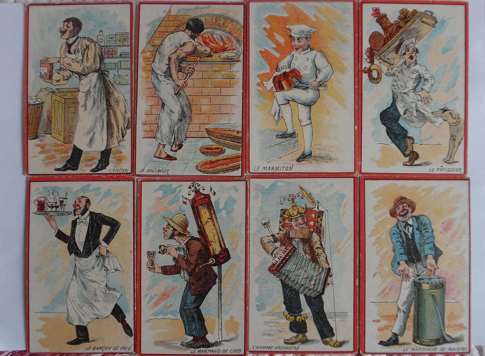 x.CARTES illustrées pour jeux de société