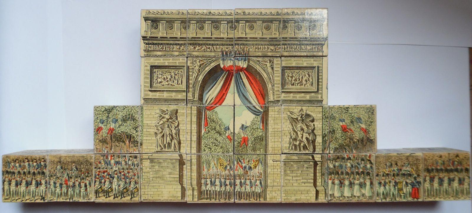 ( Arc de Triomphe et Gare de l'Est )