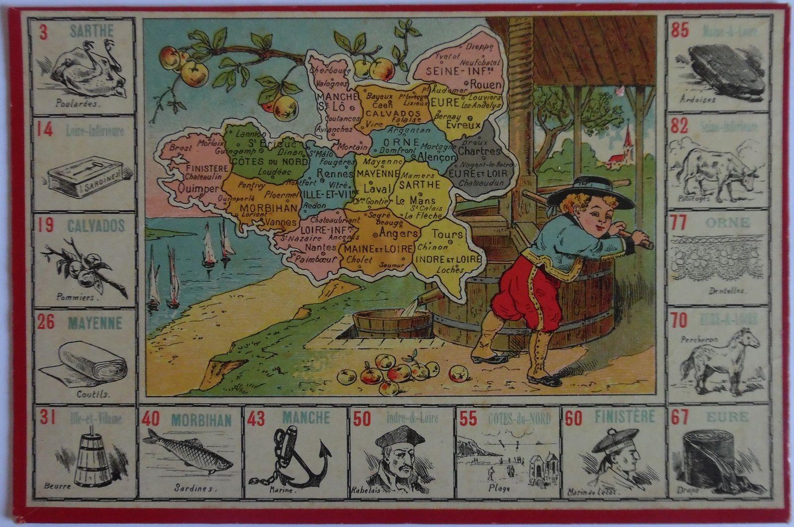"""( NK Atlas, loto """"la France et ses produits """")"""
