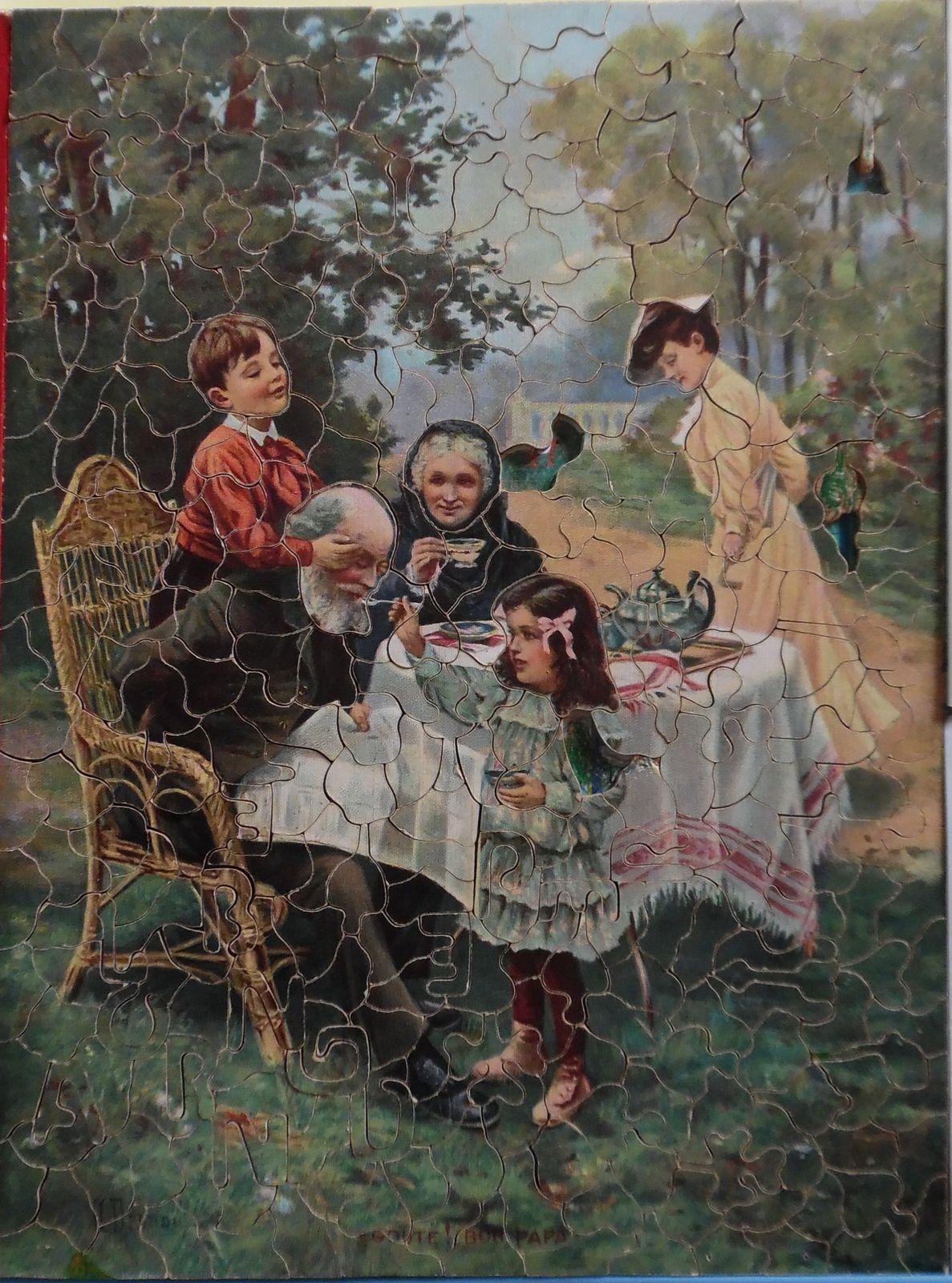 puzzle d'après un tableau de A. Bresnou