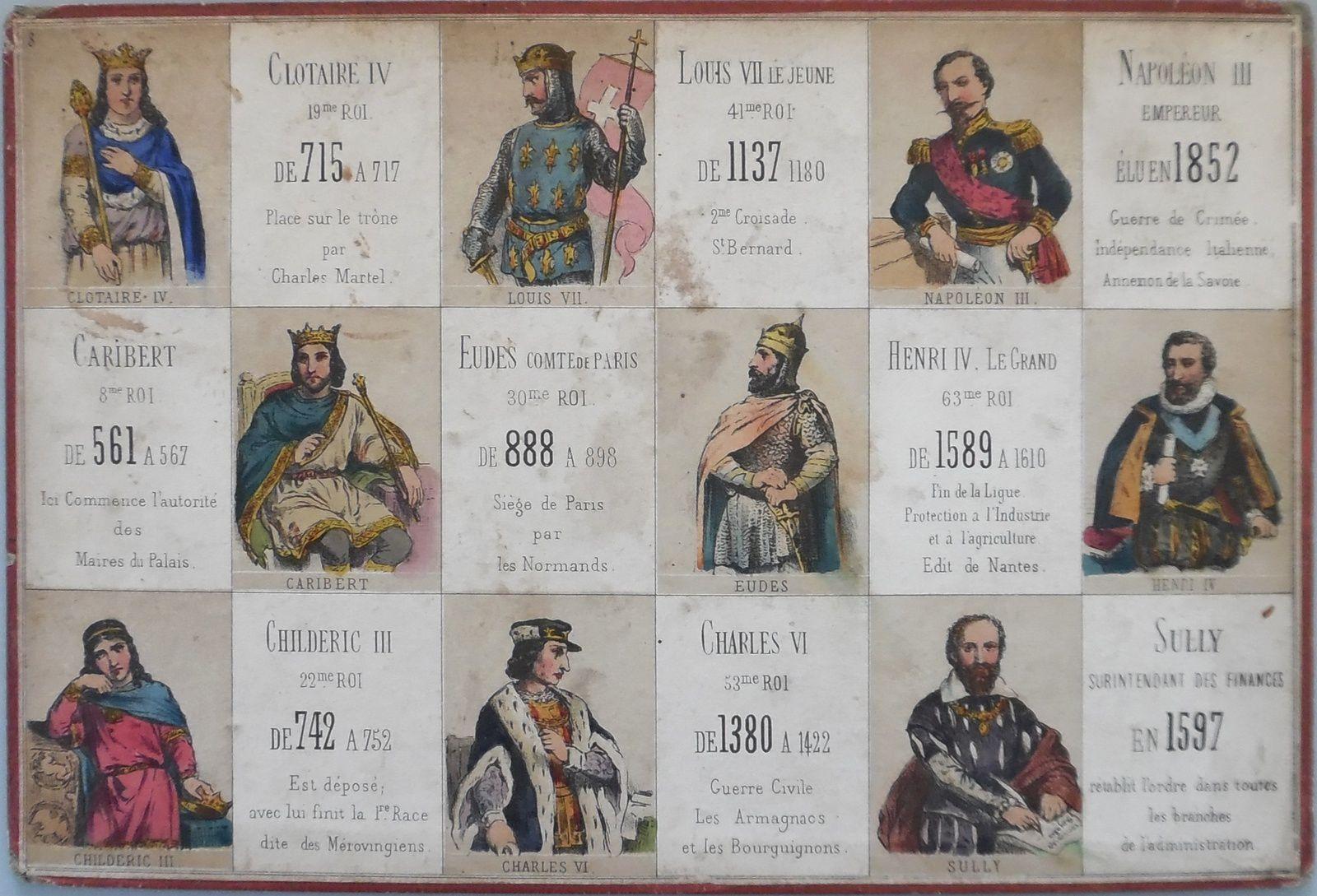 LOTOS HISTORIQUES : les rois