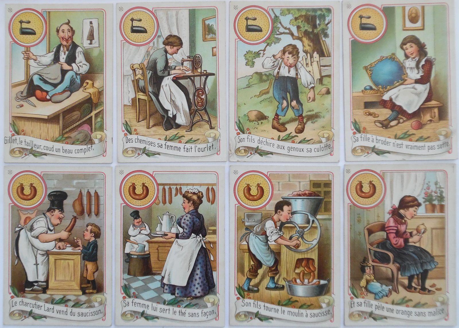 x.CARTES - jeux de FAMILLES
