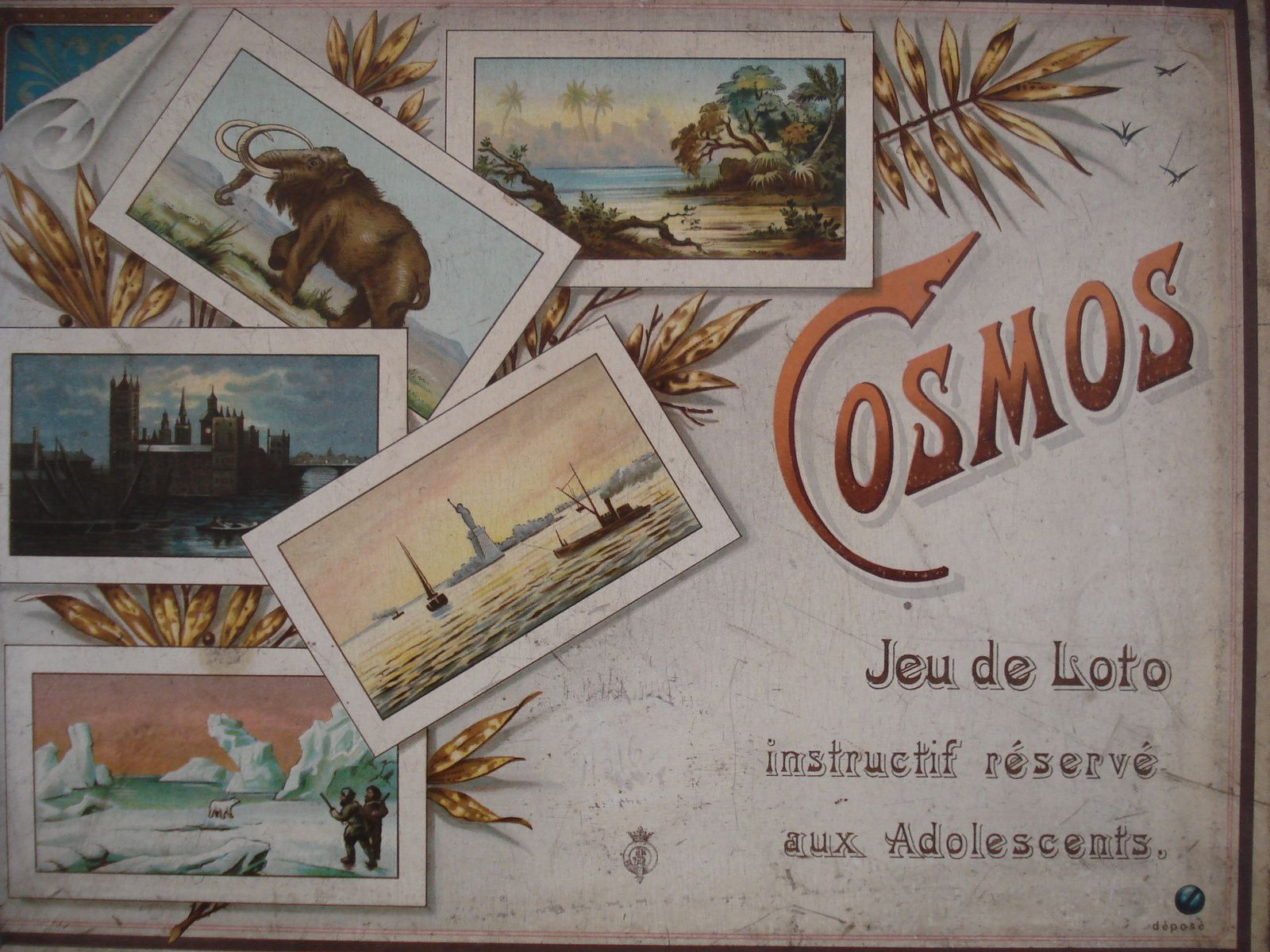 Cosmos, jeu de loto géographique