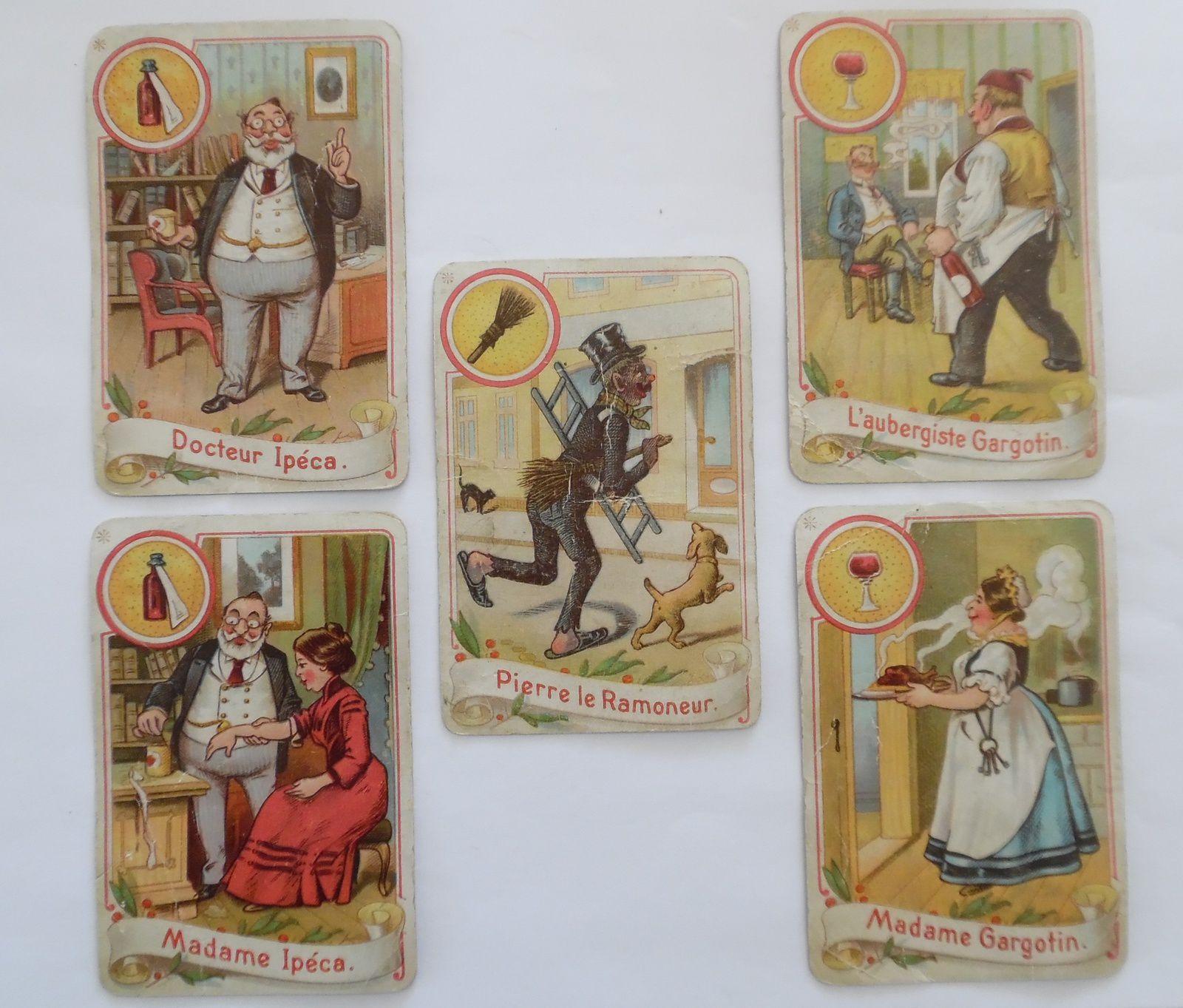 jeu de cartes Pierre le Ramoneur