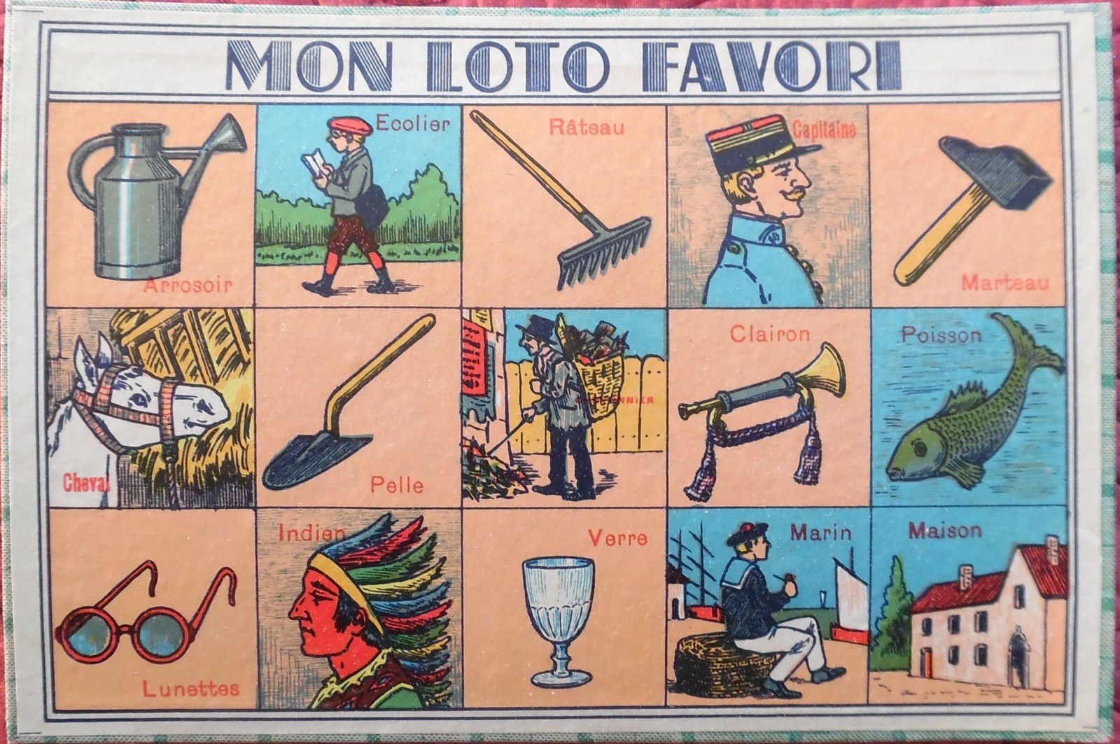 LOTOS ENFANTINS (images)