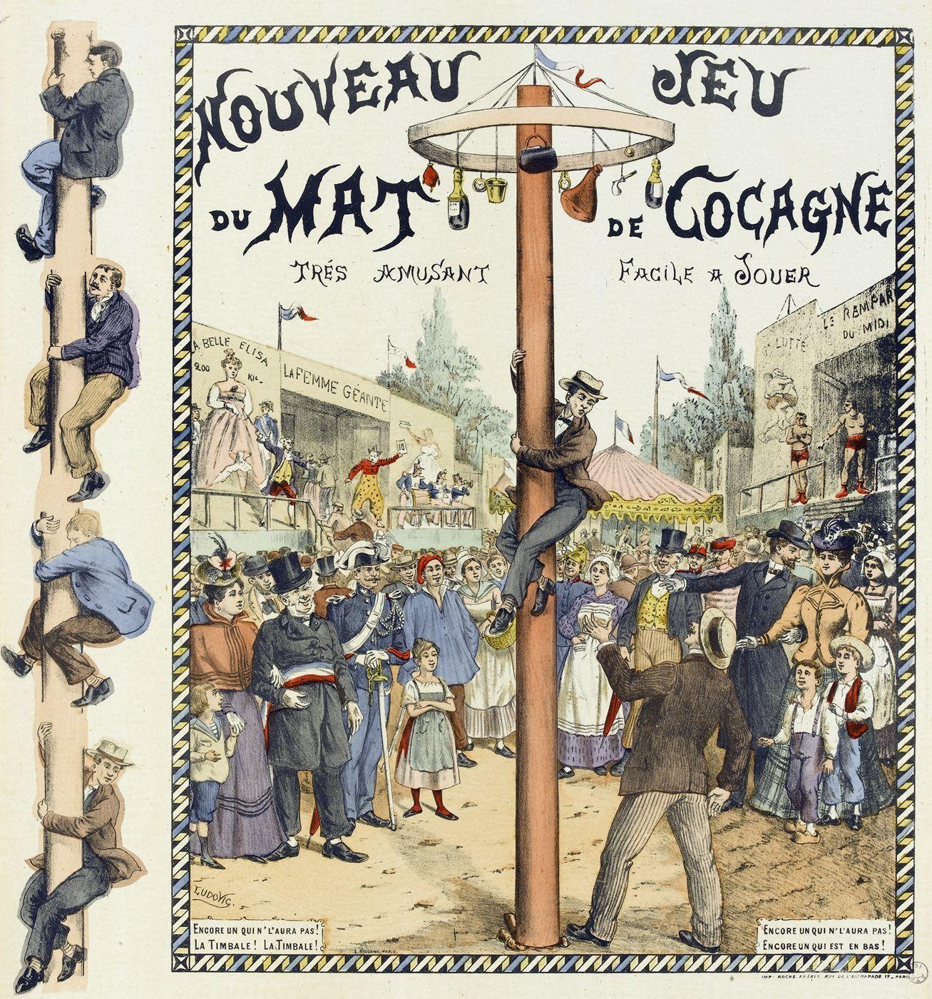 le dessin est signé Ludovic, et le refrain cité par Watilliaux est repris en partie...