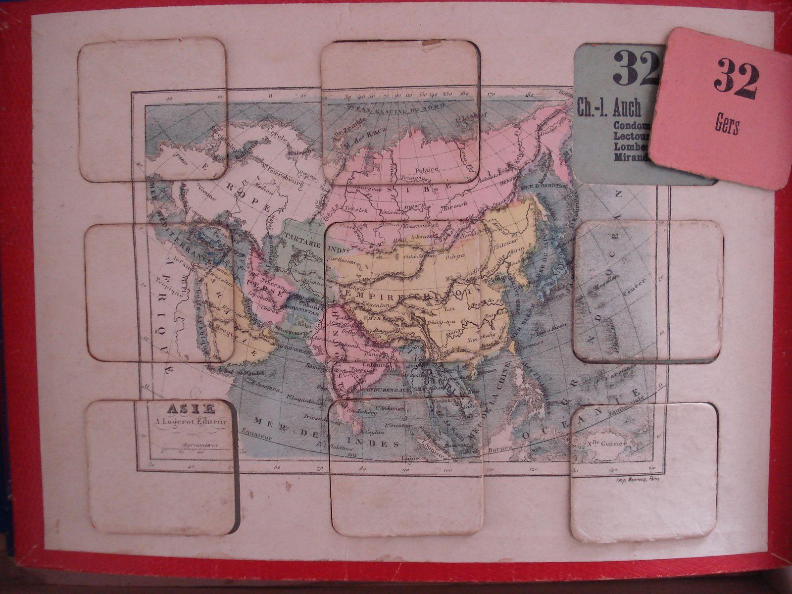 loto géographique de AWGL