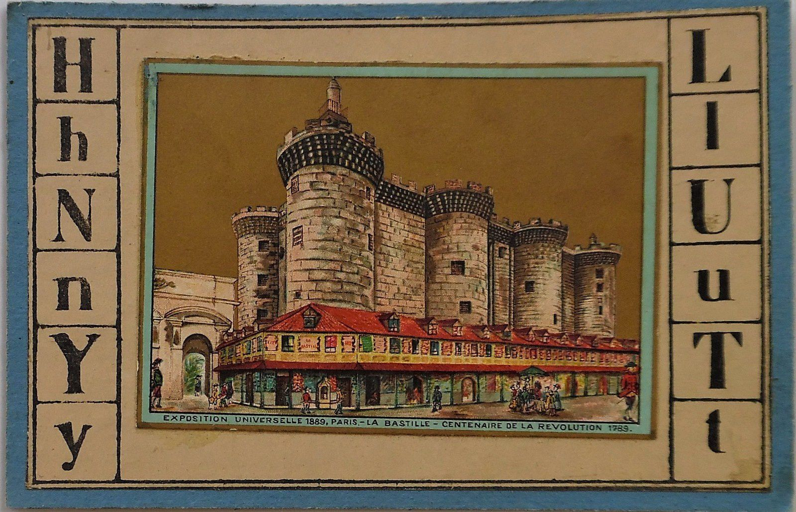 La Bastille, exposition internationale de 1889