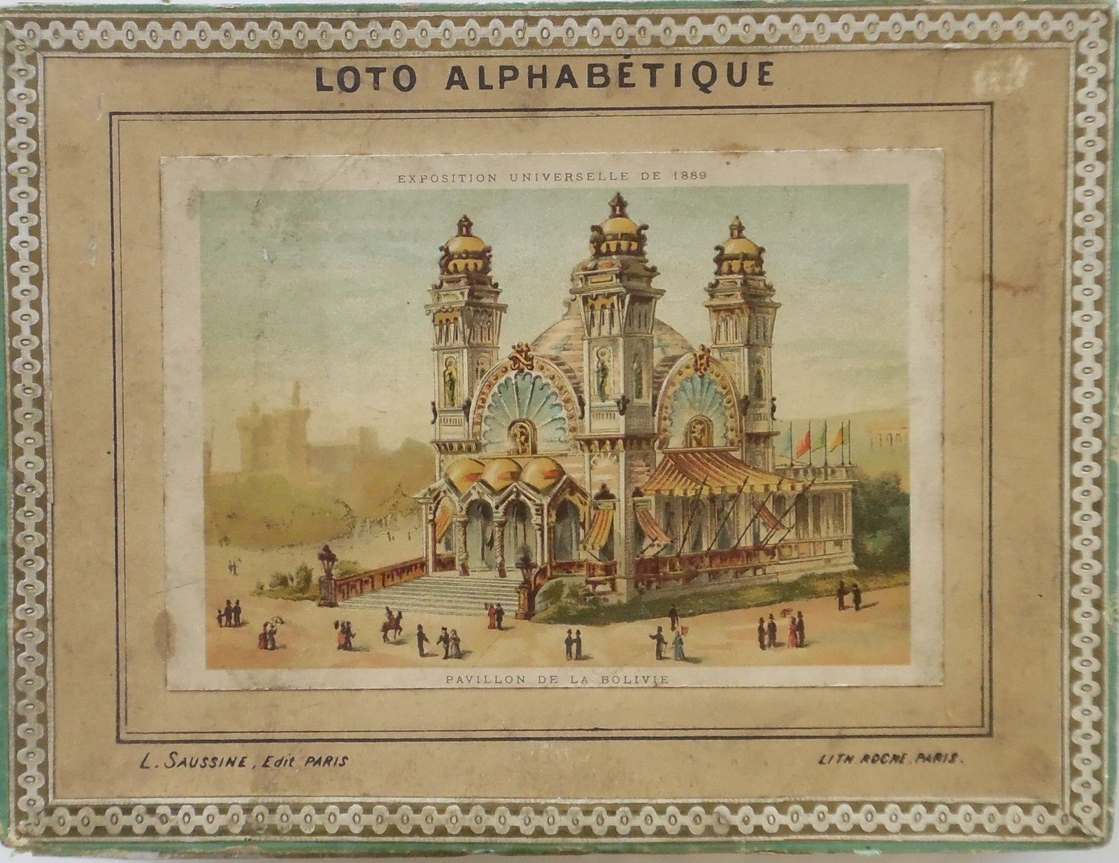 loto alphabétique par Léon Saussine