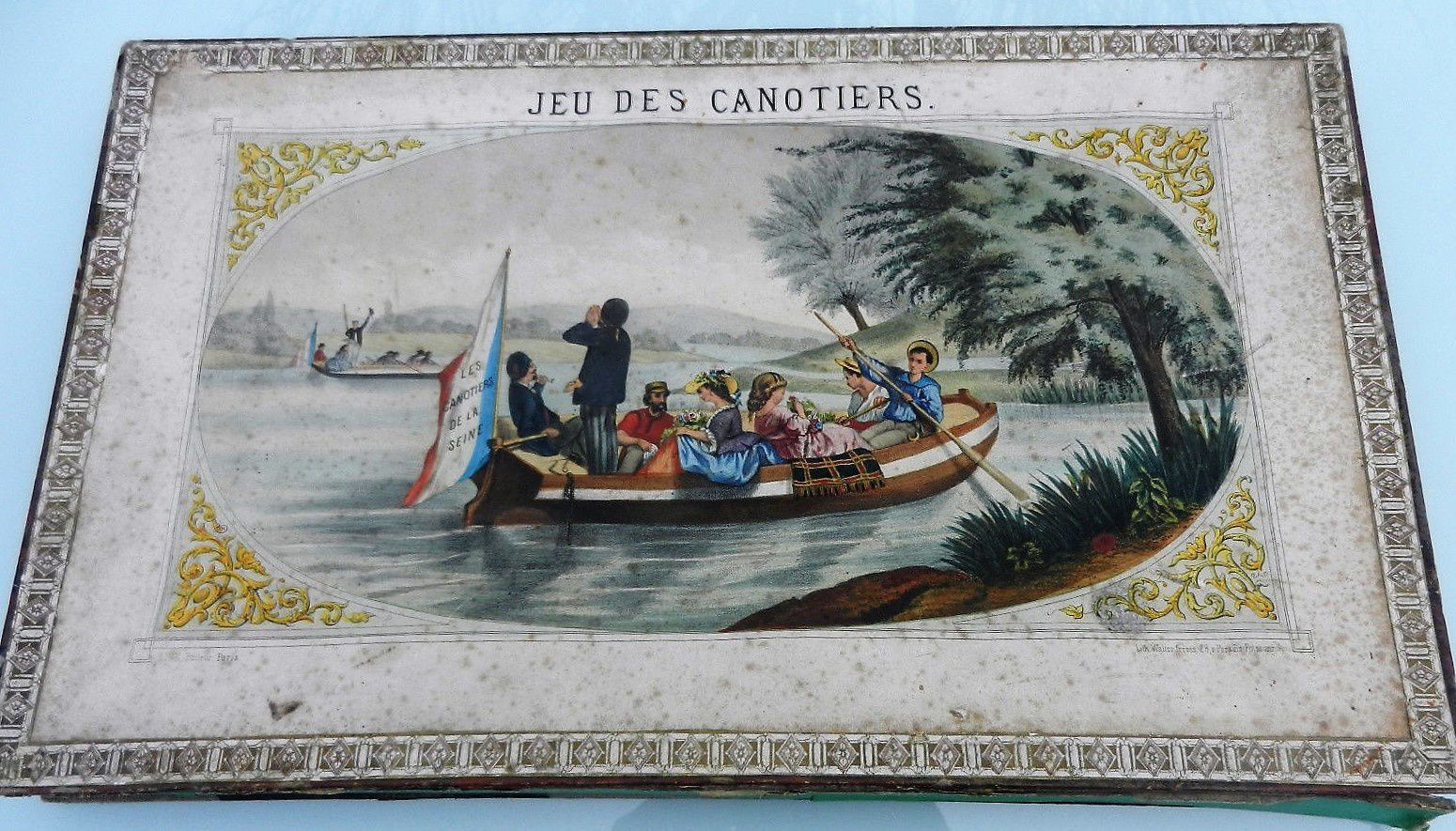 jeu des canotiers, LION Fils éditeur