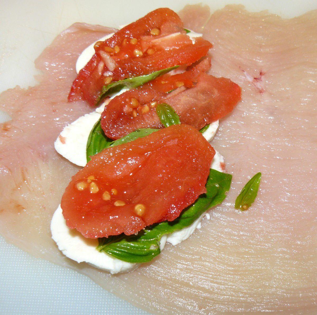 Roul s de dinde vert blanc rouge - Basilic seche a ne pas consommer ...