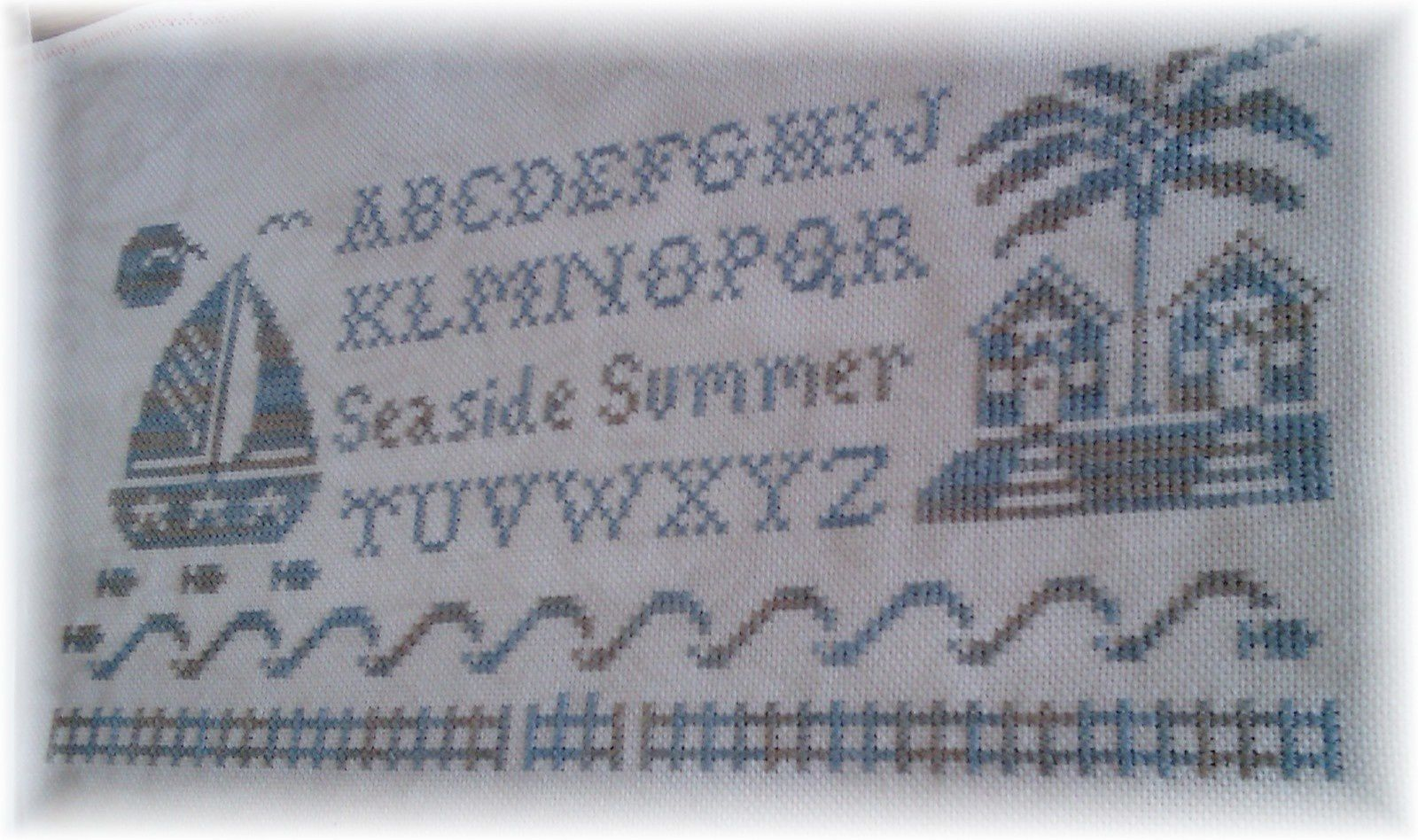 Seaside summer alphabet ...
