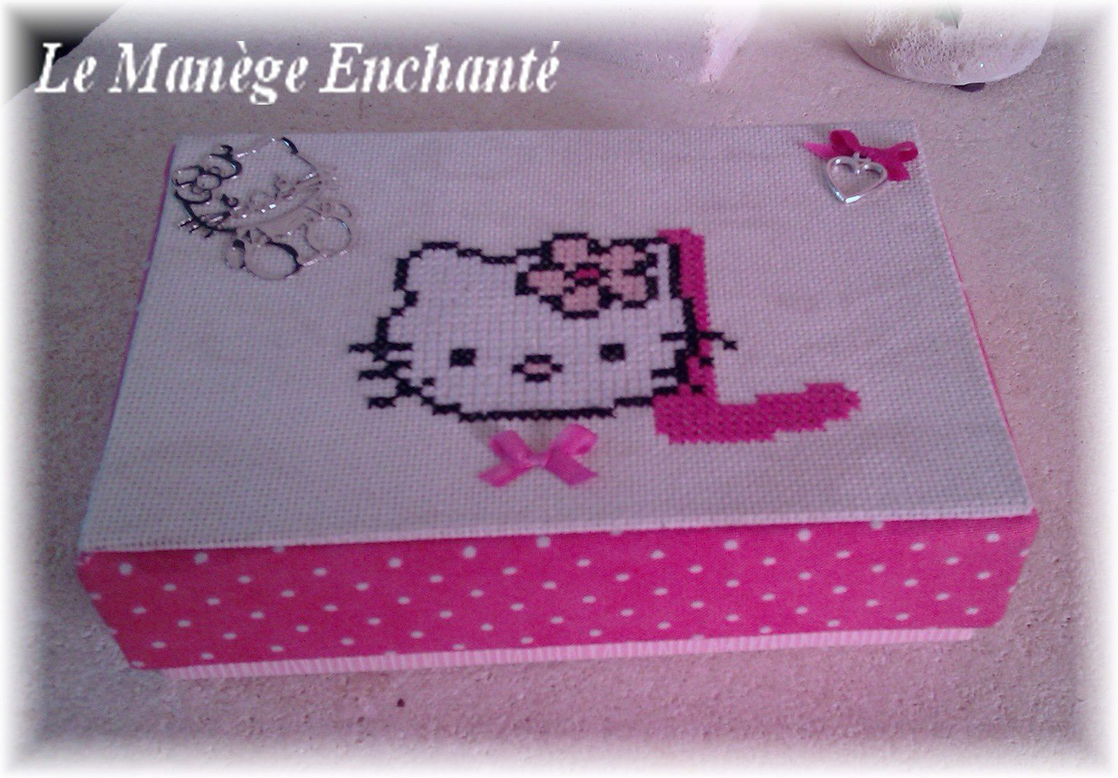 Hello Kitty en boite ...