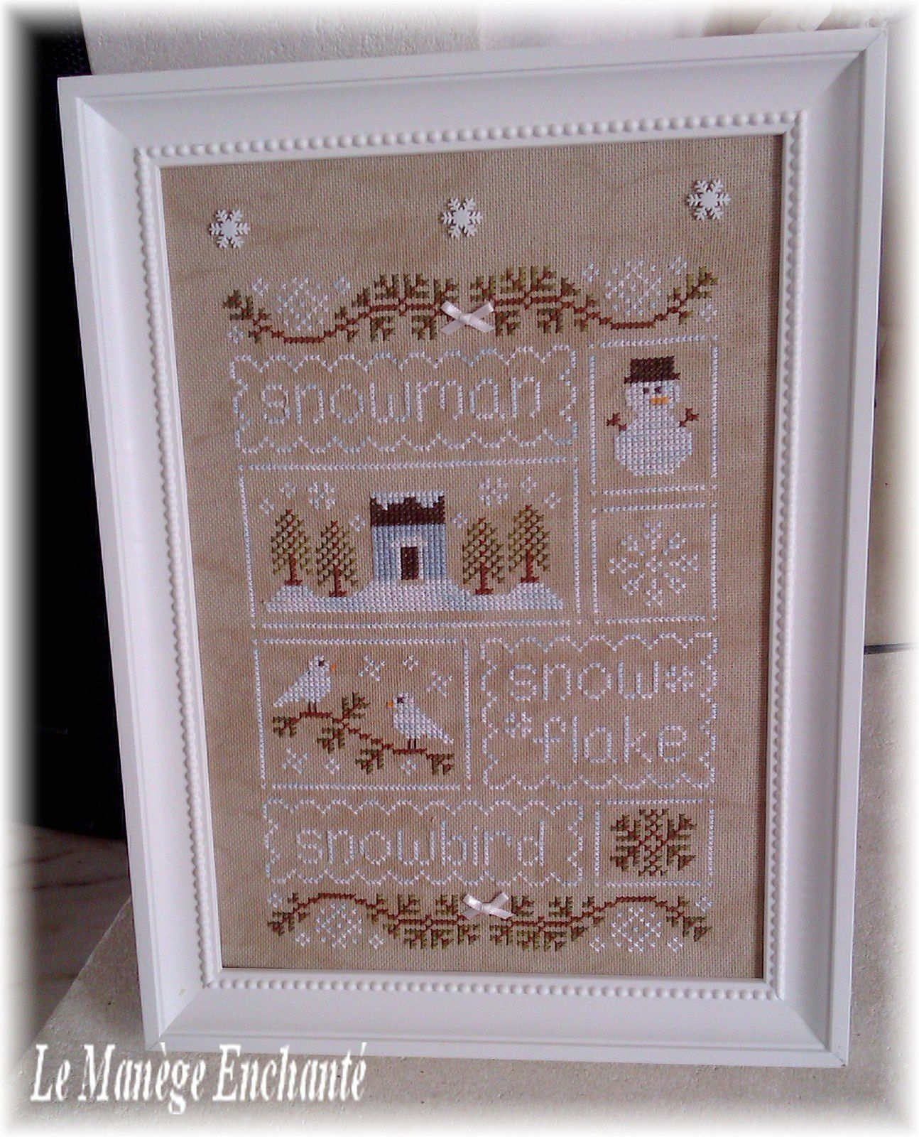Snow Sampler... Finitions !