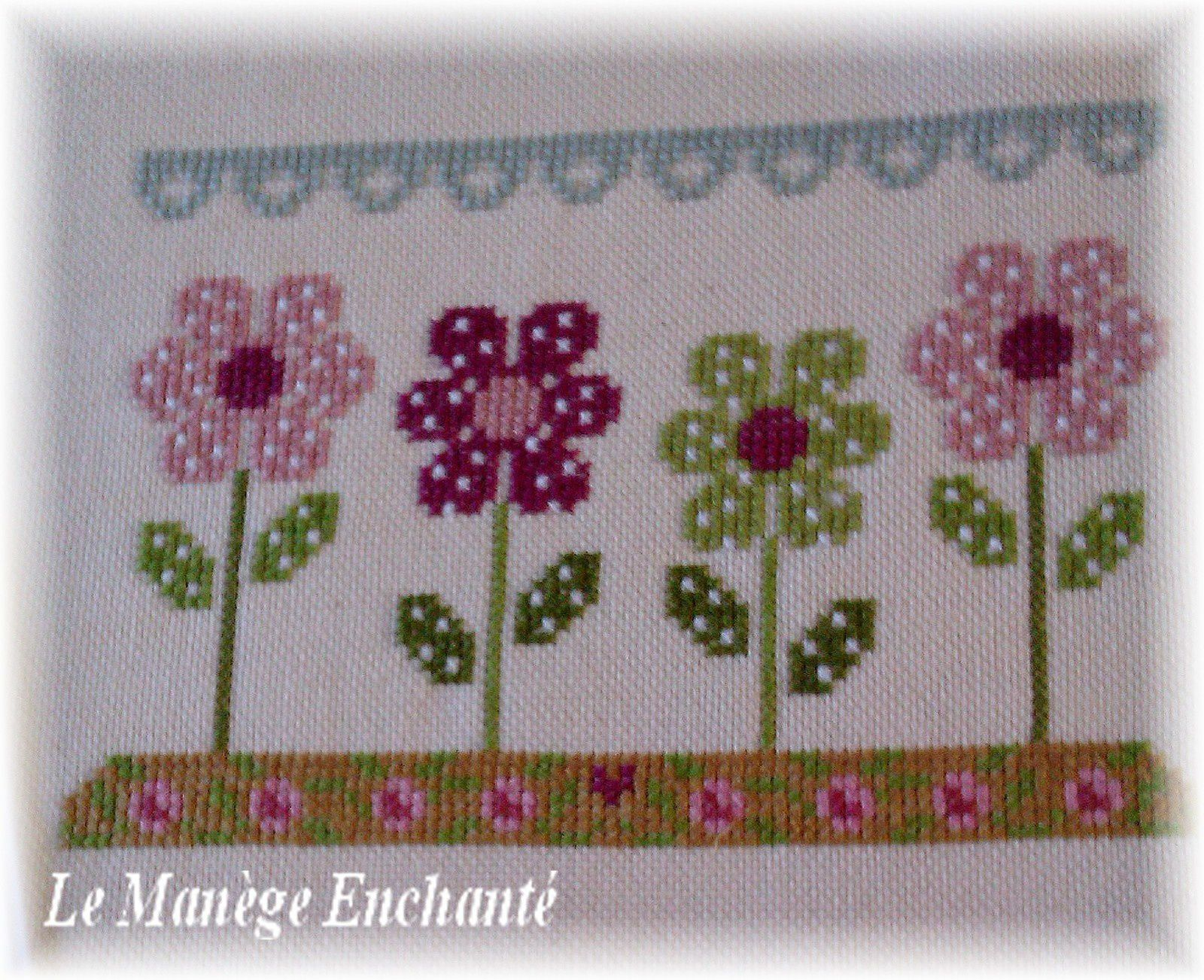 Spring in quilt ...