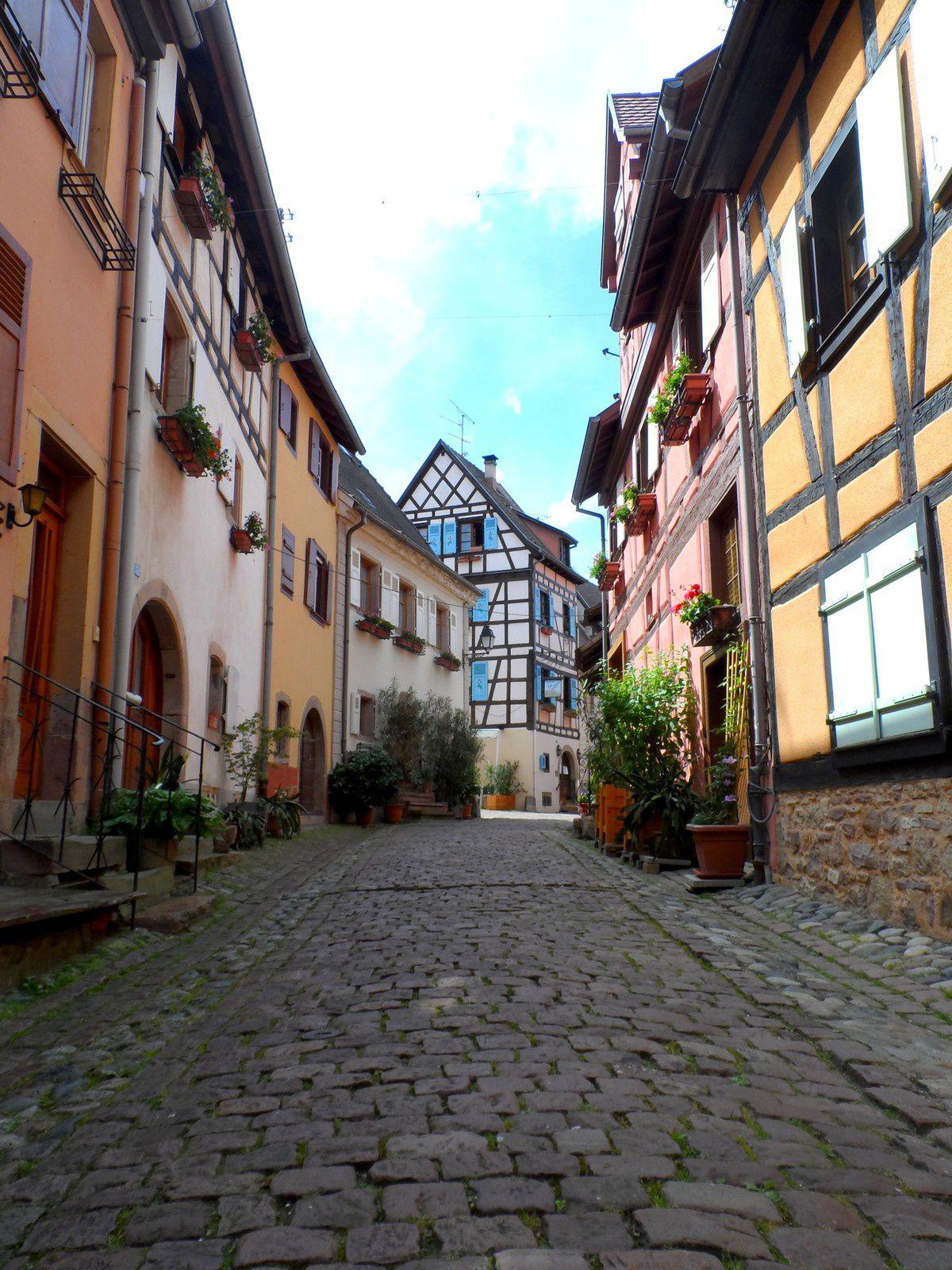 Colmar et Eguisheim: apparition surprise et village préféré des Français