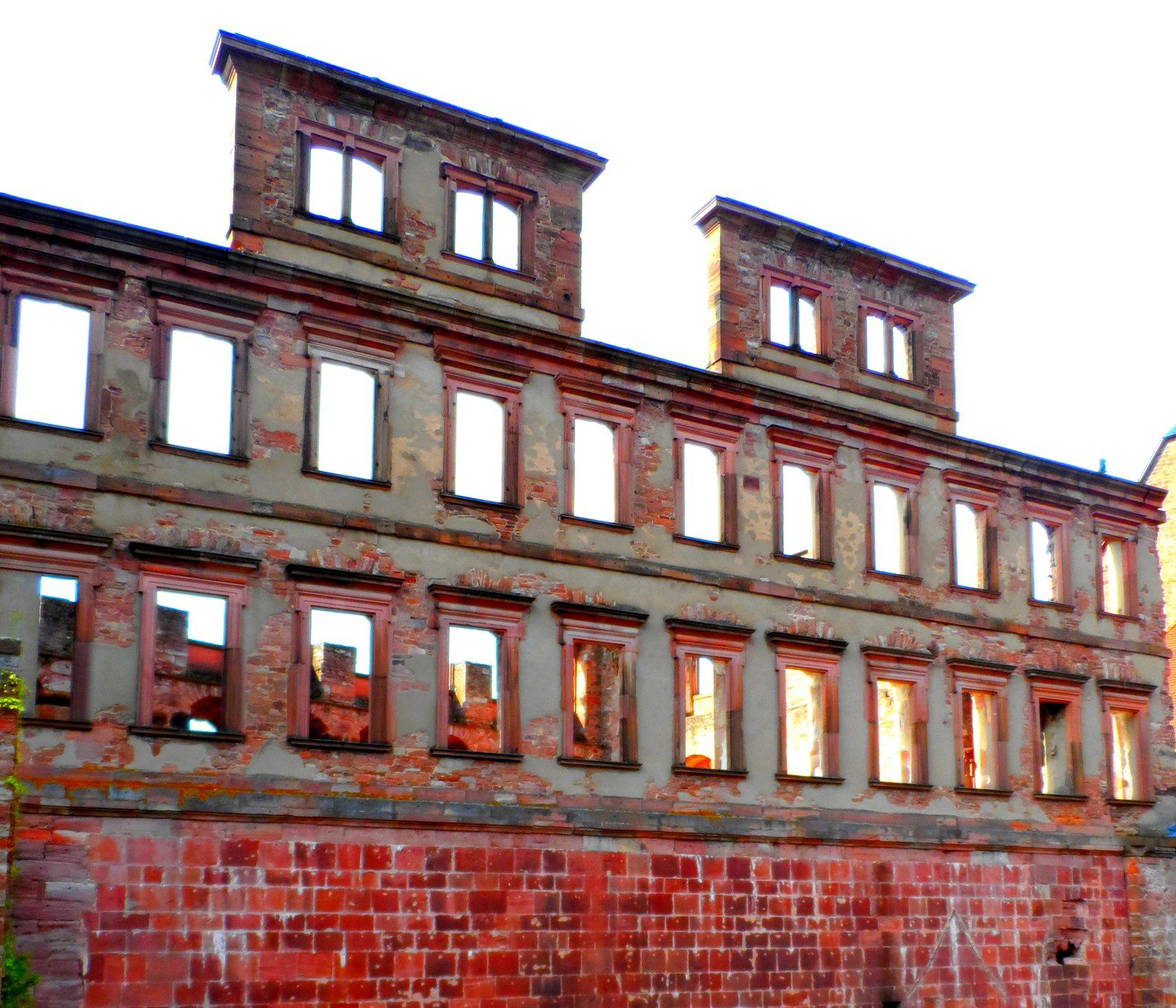 Heidelberg : château, internat, et Pignon