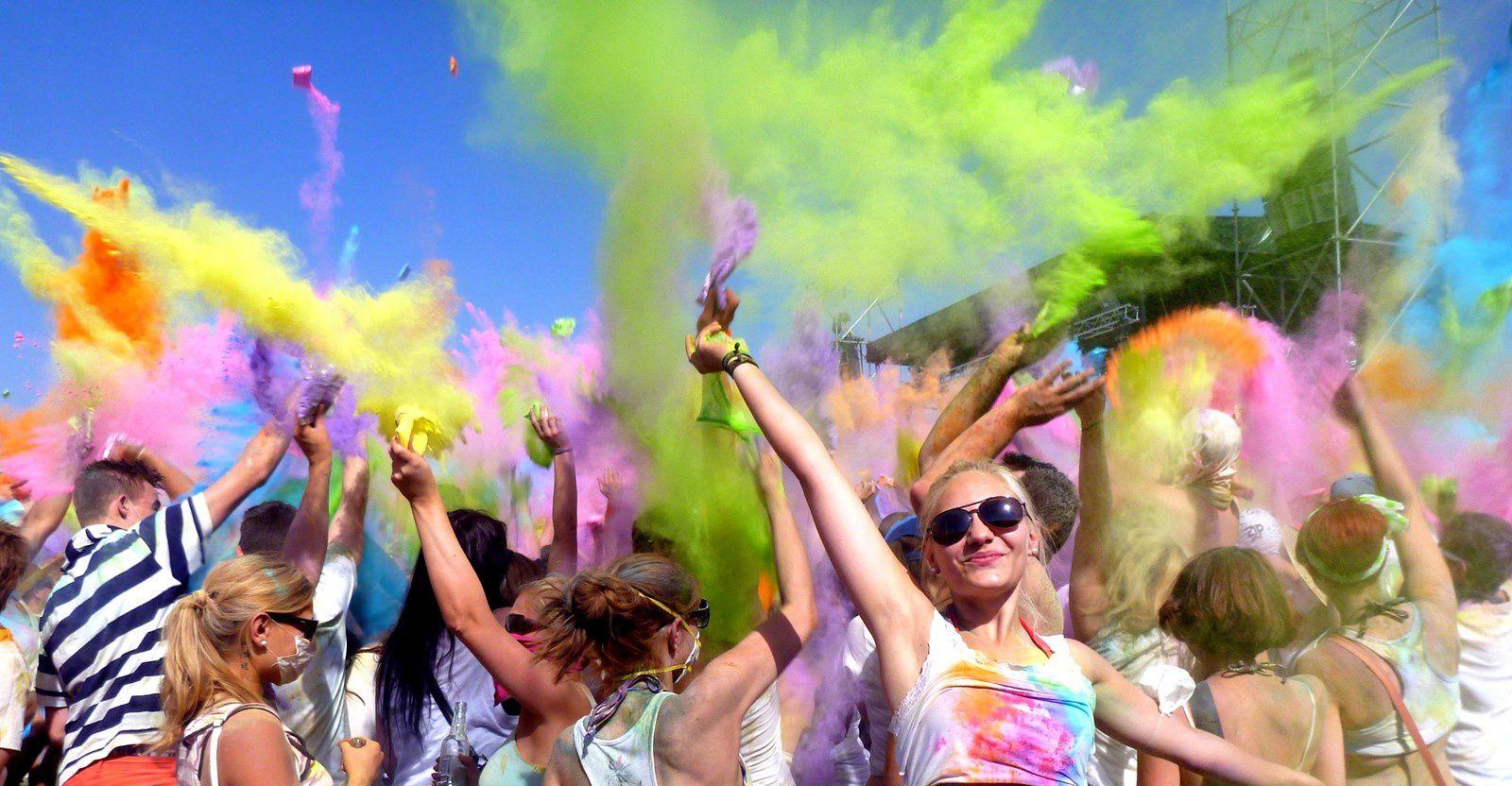 Holi Festival, Freibourg : un monde en couleur