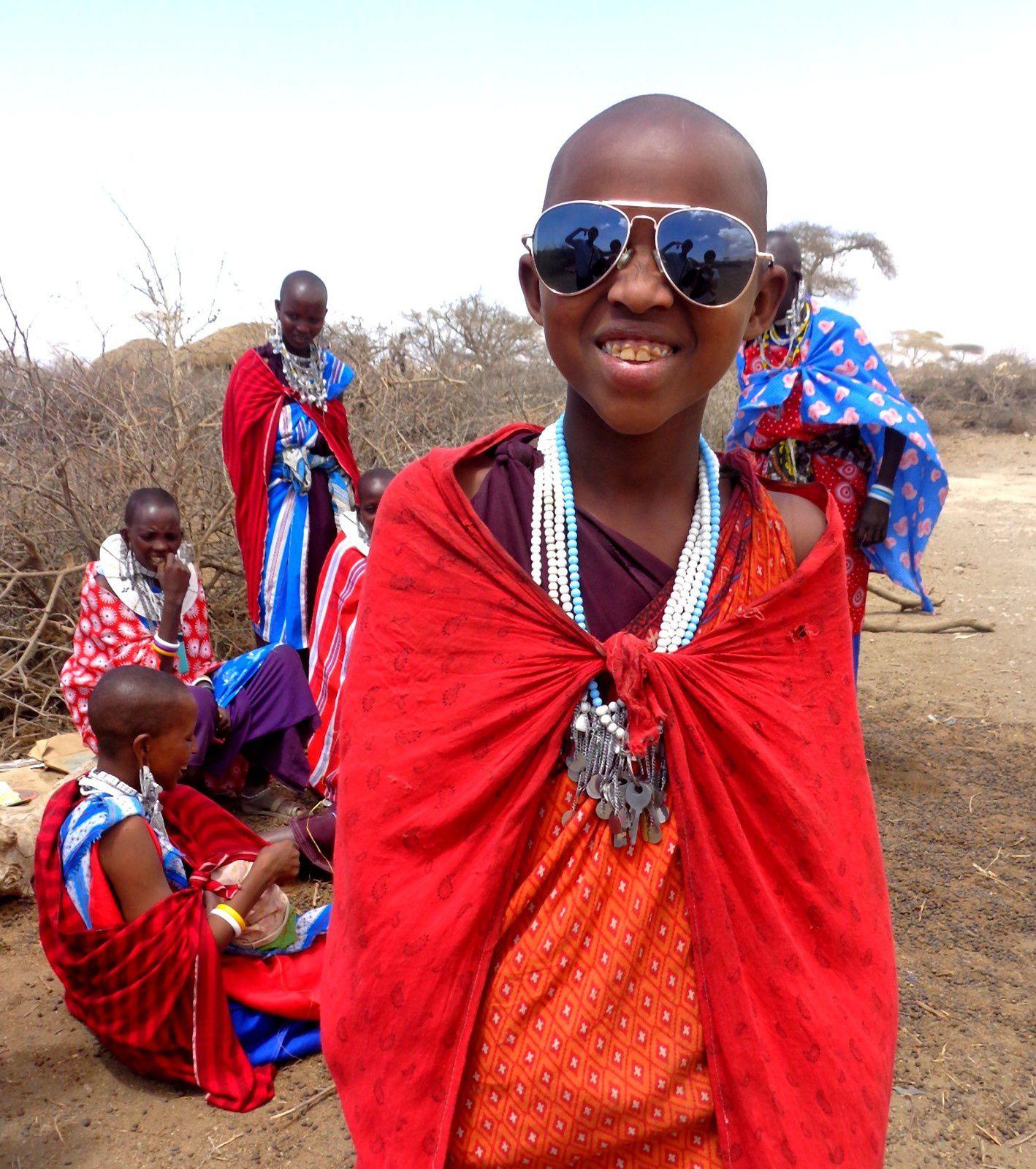 Chez les Maasai