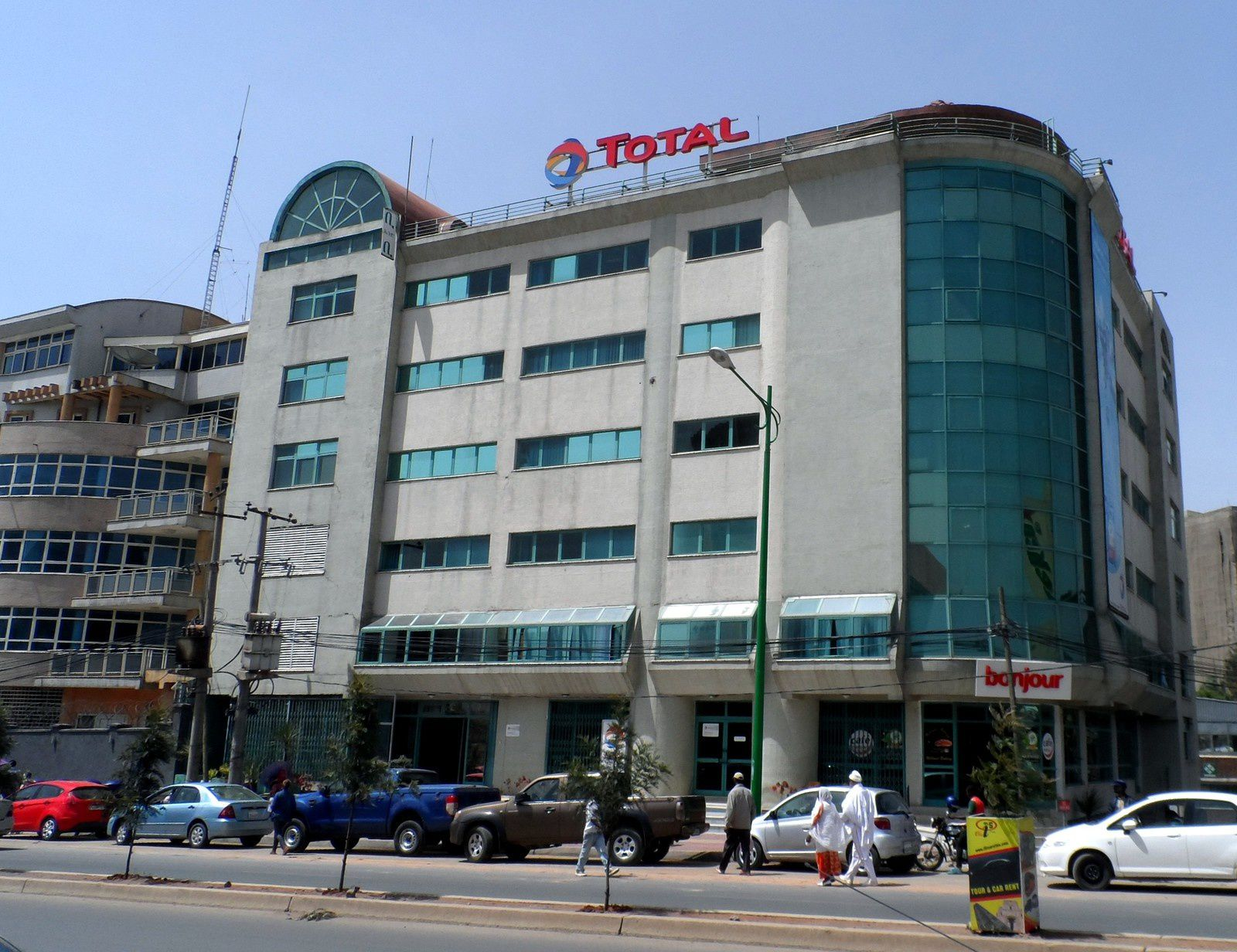 Addis Abeba, les premiers pas