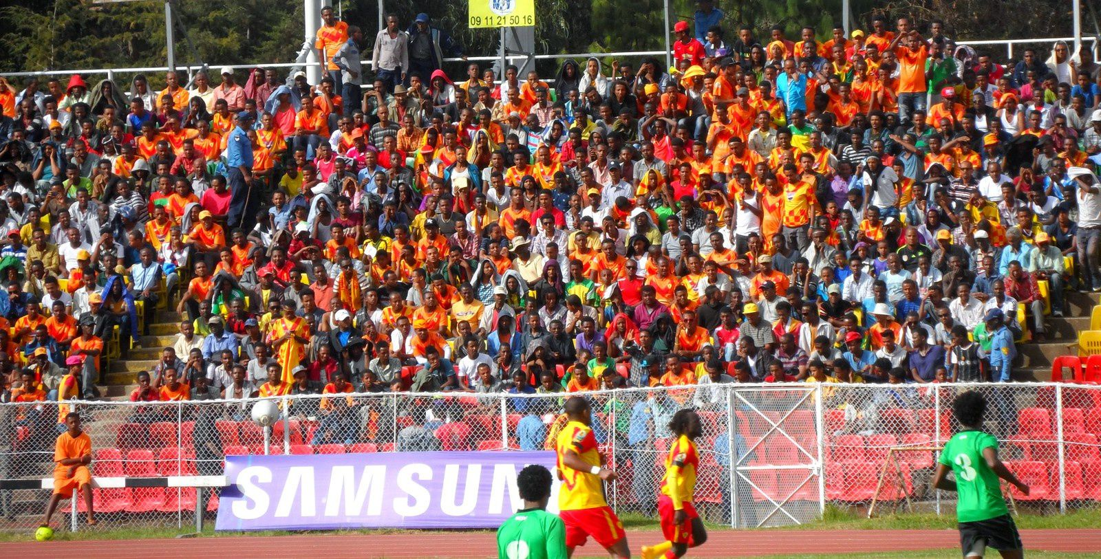 Un week-end de football en Éthiopie