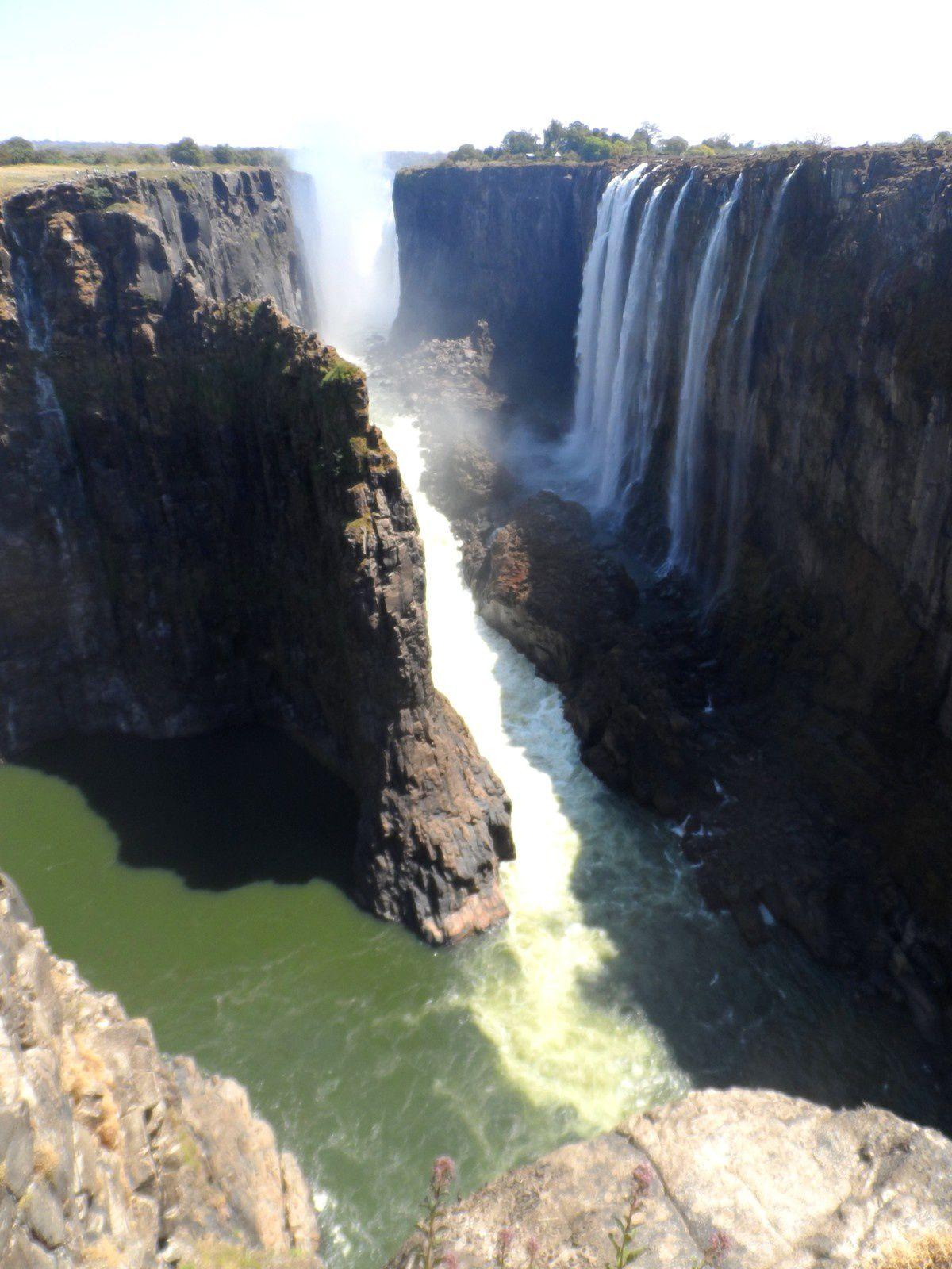 Les chutes Victoria : nager dans le Zambèze