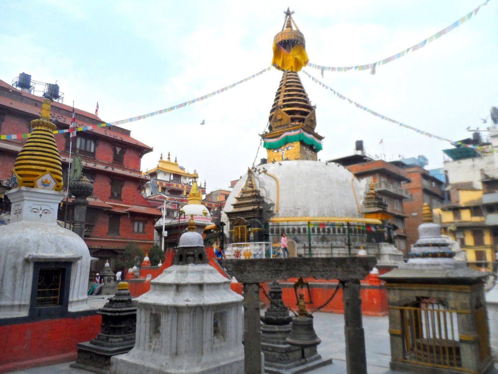 Katmandou la meurtrie