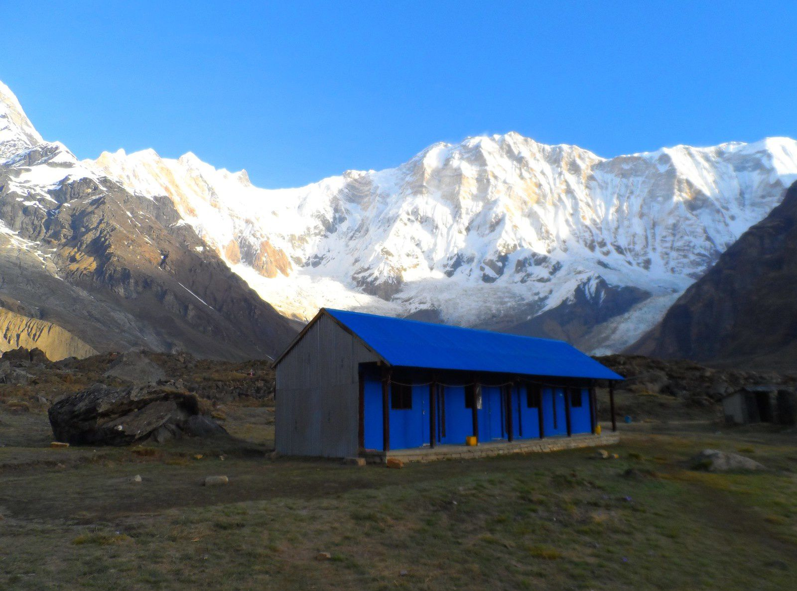 Le camp de base de l'Annapurna