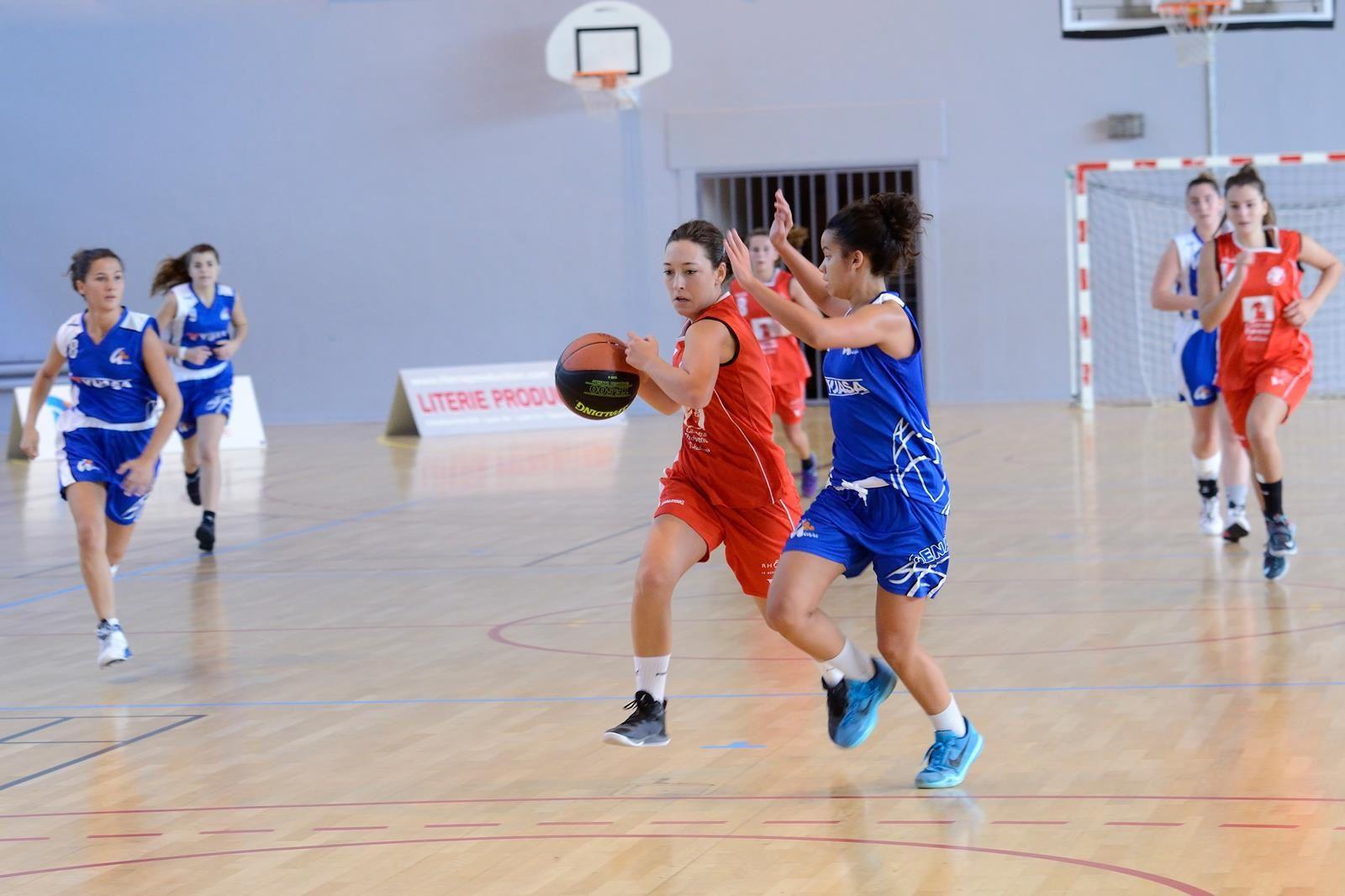 Les U20F face à Genas-Azieu le 25/10/2015 au Palais des Sports