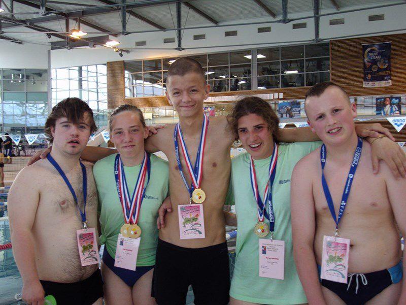 Championnat de France de natation jeunes sport adapté