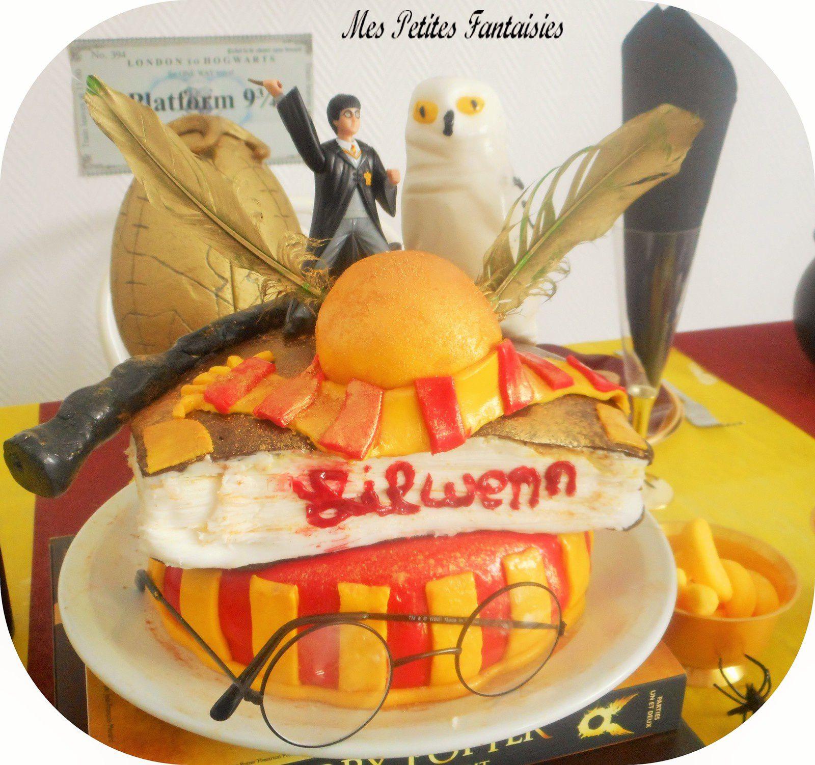 Gâteau Harry Potter !