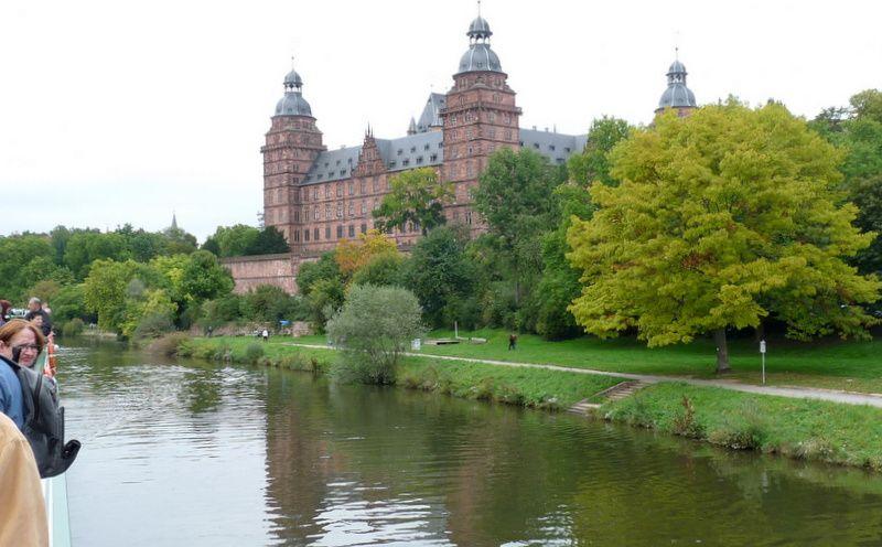 arrivée à Aschaffenbourg, le 26 septembre 2014