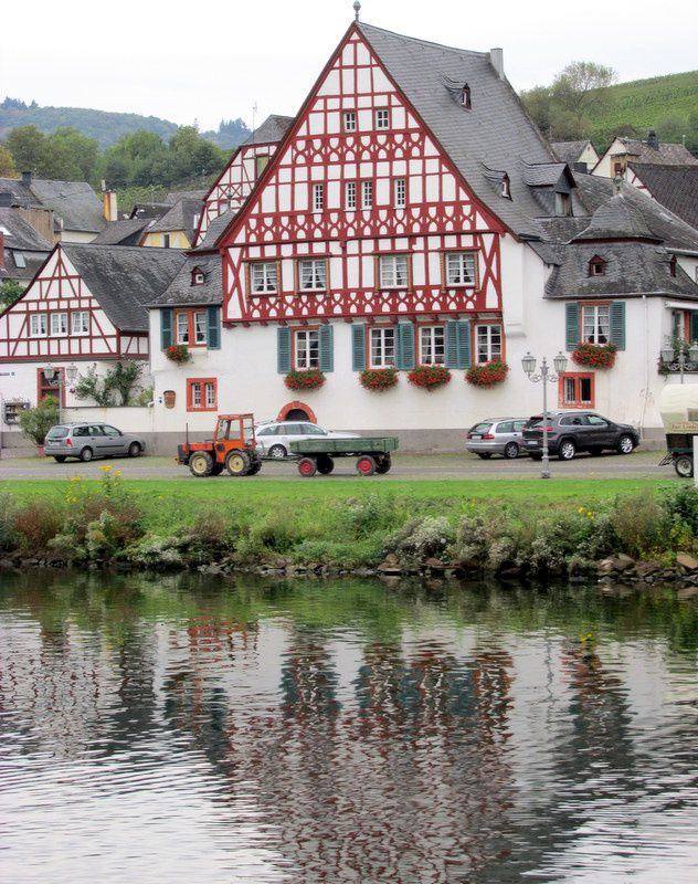 Moselle allemande: COCHEM et Riesling