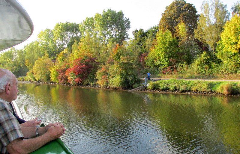 Reflets d'automne sur la Sarre (SAAR)