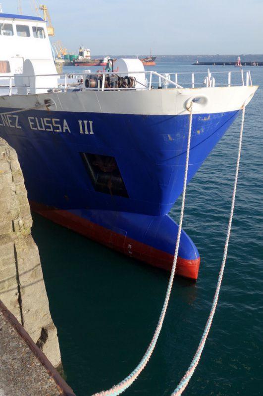 Le Port de Commerce de Brest-février 2015