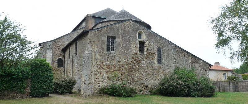 l'Abbatiale de Saint-Philibert de Grand-Lieu
