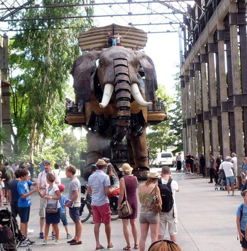 le Grand Eléphant de Nantes